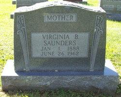 Virginia Belle <i>Wright</i> Saunders