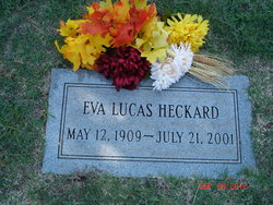 Eva <i>Lucas</i> Heckard