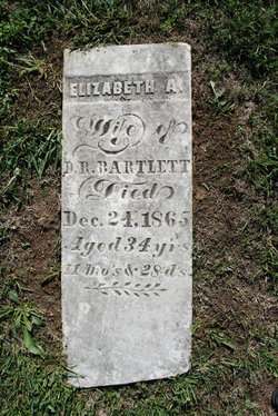 Elizabeth A <i>Buzzard</i> Bartlett