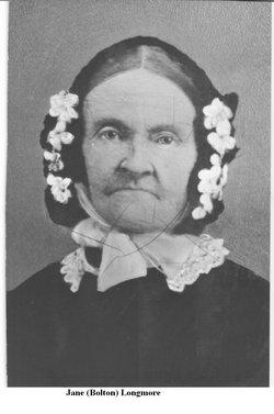 Jane <i>Bolton</i> Longmore