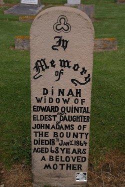 Dinah <i>Adams</i> Quintal