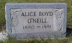 Alice <i>Boyd</i> O'Neill
