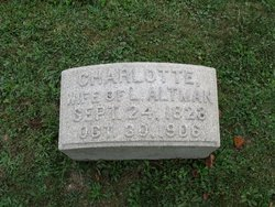 Charlotte <i>Hobaugh</i> Altman