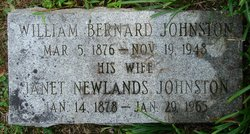 Janet <i>Newlands</i> Johnston
