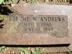 Berthe Karine <i>Jacobsen</i> Andrews