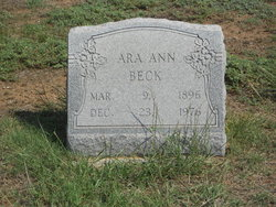 Ara Ann Beck