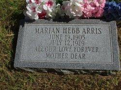 Marion H. <i>Hebb</i> Arris