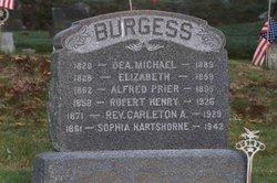 Rev Carleton Asbury Burgess