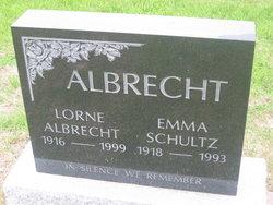 Emma <i>Schultz</i> Albrecht