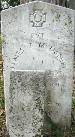 Pvt James T. McDaniel