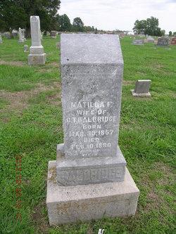 Matilda F. Baldridge