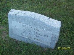 Ruby Allene <i>Pennington</i> Baugess
