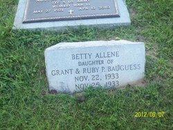 Betty Allene Baugess