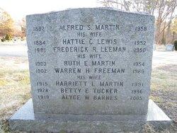 Alyce W <i>Martin</i> Barnes