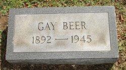 Gay <i>Vanhorn</i> Beer