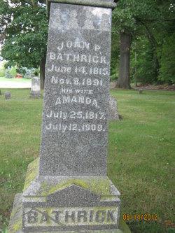 John P Bathrick