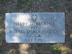 Henry Davis Beckner