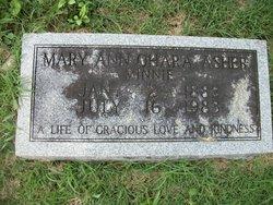 Mary Ann <i>O'Hara</i> Asher