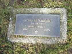 Alva M Adams