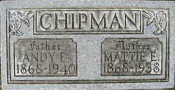 Martha E <i>Evans</i> Chipman