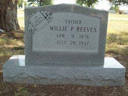 Willie P Reeves