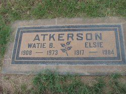 Elsie Mae <i>Rowland</i> Atkerson