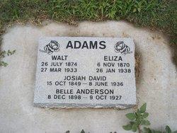 Clyde Walter Walt Adams