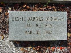 Bessie <i>Barnes</i> Dunagan
