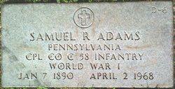 Corp Samuel R. Adams