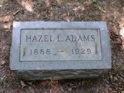 Hazel L. Adams