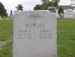 Leslie L Bowles