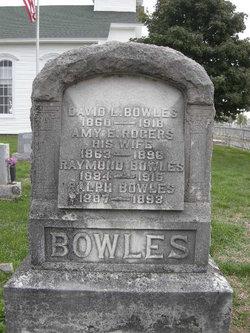 Amy E <i>Rogers</i> Bowles