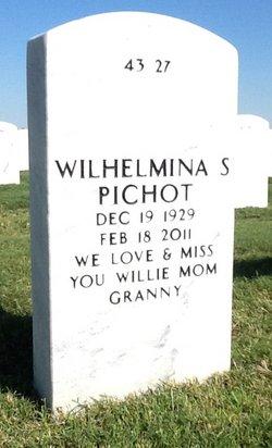 Wilhelmina Schueling Willie Pichot