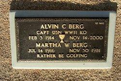 Alvin C Berg