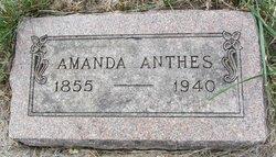 Amanda Pauline <i>Getzschman</i> Anthes