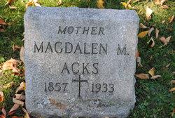 Magdalen M. Acks