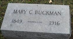 Mary <i>Critchfield</i> Buckman