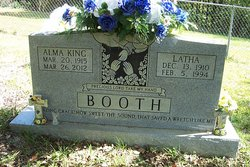 Alma <i>King</i> Booth