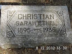 Sarah Ethel <i>Payne</i> Christian