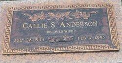 Callie S. <i>Kelsey</i> Anderson