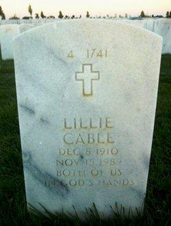 Mrs Lillie <i>Hudson</i> Cable