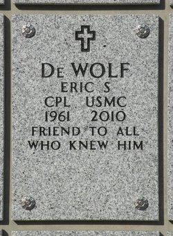 Eric Stephan DeWolf