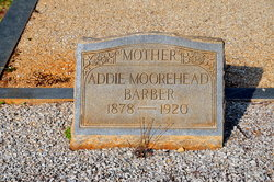 Addie <i>Moorehead</i> Barber