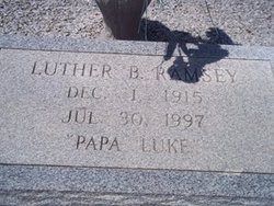 Luther Burbank Ramsey