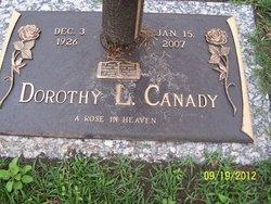 Dorothy L Canady