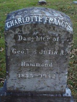 Dr Charlotte Frances Hammond