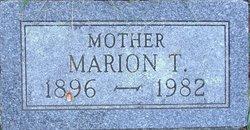 Marion T Field