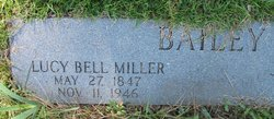Lucy Bell <i>Miller</i> Bailey