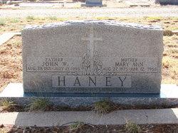 Mary Ann <i>Ragsdale</i> Haney