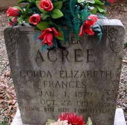 Corda Elizabeth Frances Acree